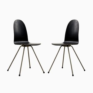 Vintage Tongue Chairs by Arne Jacobsen for Fritz Hansen, Set of 2