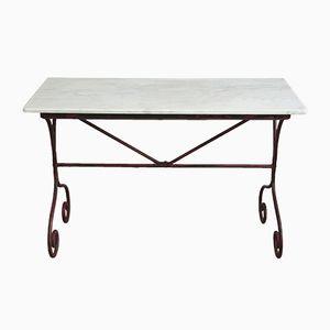 Tavolo da giardino vintage, Francia, fine XIX secolo