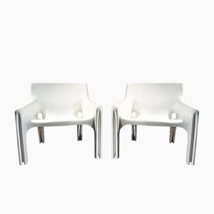 Vicario Chairs by Vico Magistretti for Artemide, 1970s, Set of 2