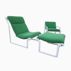 Vintage Sling Chair Set von Bruce Hannah & Andrew Morrison für Knoll International