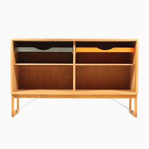 Danish Oak Bookcase by Børge Mogensen for Karl Andersson, 1960s