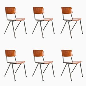 School Chairs from Marko Holland, 1970s, Set of 6
