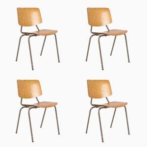 Chaises d'Ecole Vintage par Kho Liang Ie & Wim Crouwelpour Car Katwijk, Setde 4