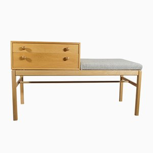 Vintage Casino Bench with Drawers by Engström & Myrstrand for Tingströms