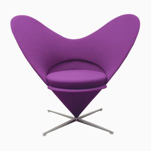 Heart Cone Chair by Verner Panton for Vitra, 1980s