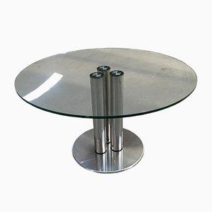 Tavolo da pranzo Marcuso 2532 di Marco Zanuso per Zanotta, anni '70