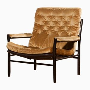 Swedish Lounge Chair By Kenneth Bergenblad For Dux, 1970s