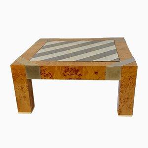 Vintage Burl Coffee Table