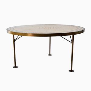 German Mosaic Coffee Table from Berthold Müller, 1960s