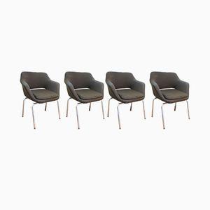 Mid-Century Stühle von Ico & Louisa Parisi für MIM, 4er Set
