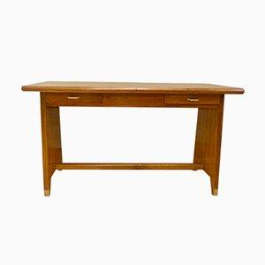 Desk with Brass Feet by Gio Ponti, 1950s