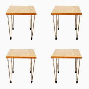Vintage Side Tables from Pin Age, Set of 4