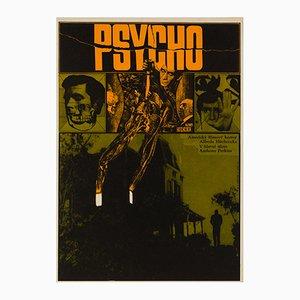Psycho Poster by Zdenek Ziegler, 1970