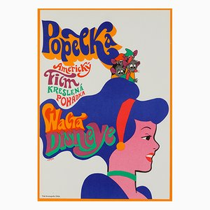 Cinderella Poster by Karel Vaca, 1970