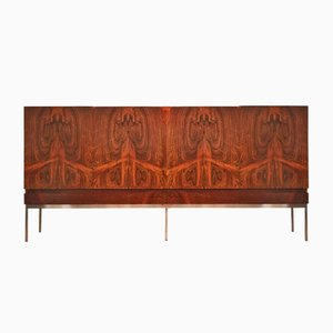 Mid-Century B60 Palisander Highboard by Dieter Wäckerlin for Behr Möbel