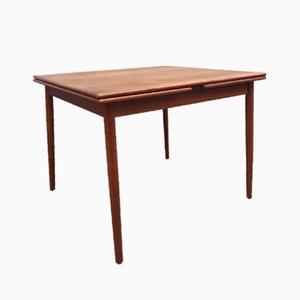 Danish Mid-Century Extendable Teak Dining Table from Farstrup, 1960s