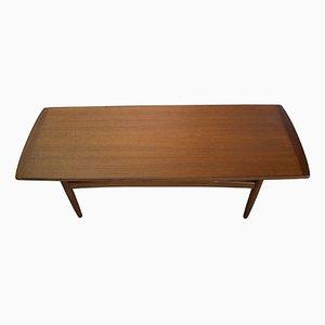 Table Basse en Teck, Danemark, 1960s