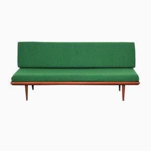 Vintage Minerva Teak Tagesbett Sofa von Peter Hvidt & Orla Mølgaard Nielsen