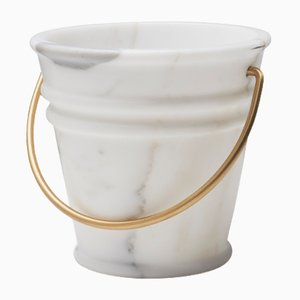 White Ice Ice Baby Bucket by Lorenza Bozzoli for Editions Milano, 2017
