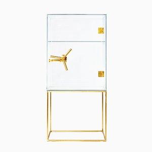 Safe aus Kristallglas von Ctrlzak für Editions Milano, 2015
