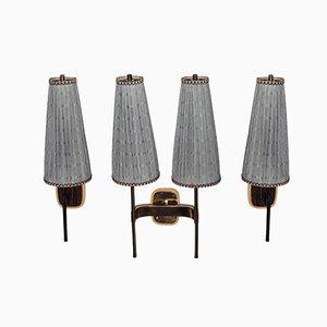 Vintage Wall Lamps by J.T. Kalmar, Set of 3