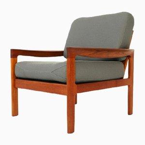 Teak Lounge Chair by Arne Wahl Iversen for Komfort Denmark, 1960s