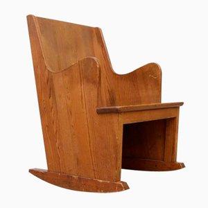Rocking Chair Lovö par Axel-Einar Hjorth pour Nordiska Kompaniet, 1930s