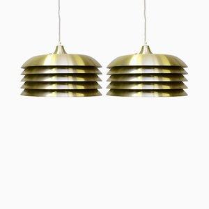 Pendant Lights by Hans-Agne Jakobsson for Hans-Agne Jakobsson AB Markaryd, 1960s, Set of 2