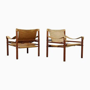 Sirocco Chairs by Arne Norell, Set of 2