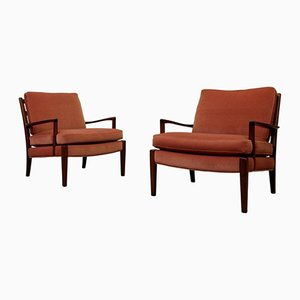 Easy Chairs Model Löven from Arne Norell, 1960s, Set of 2