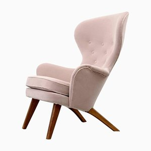 High Back Armchair from Carl Gustav Hiort af Ornäs, 1950s