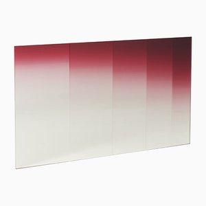 Specchio Glimpses orizzontale di Germans Ermics per Editions Milano, 2017