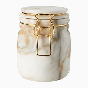 Miss Marble Calacatta Jar by Lorenza Bozzoli for Editions Milano, 2015