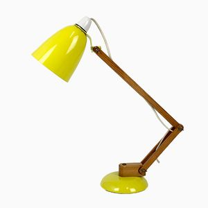 Vintage Maclamp with Wooden Arms by Terence Conran for Habitat, 1960s