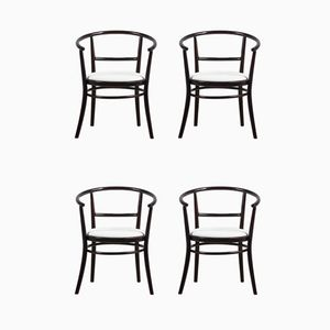 Bentwood Chairs from Ton, 1970s, Set of 4