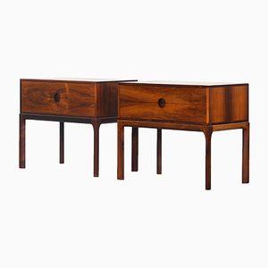 Mid-Century Rosewood Cabinets by Aksel Kjersgaard for Odder Møbler, Set of 2