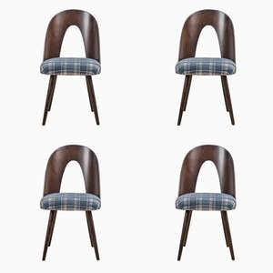 Dining Chairs by Antonin Suman for Tatra Nábytok, Set of 4