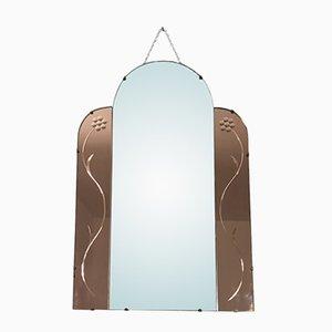Vintage Frameless Mirror