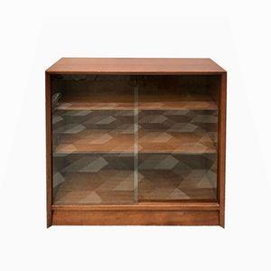 Vintage Compact Bookshelf Cabinet