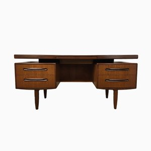 Teak Dressing Table with Mirror by Victor Wilkins for G-Plan, 1970s