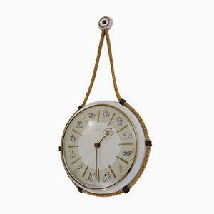 Horloge Zodiac par Henry Johannes Möller pour Kienzle International, 1950s