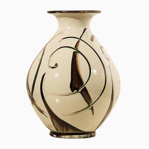 Grand Vase Art Déco par Herman A. Kähler