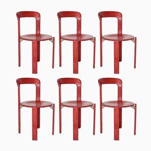 Armlehnstühle von Bruno Rey für Kusch & Co, 1970er, 4er Set bei ...