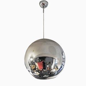 Metall Globe of Light Hängelampe von Roberto Menghi für Fontana Arte, 1960er