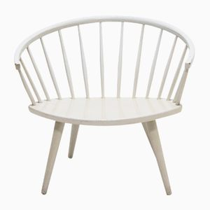 Mid-Century Arka Chair by Yngve Ekstrom for Swedese, 1950s
