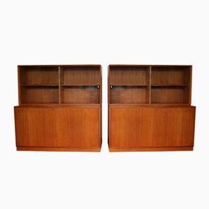 Vintage Display Cabinets by Bertil Fridhagen for Bodafors, 1962, Set of 2