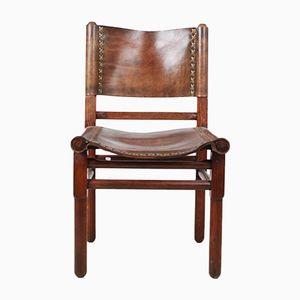 Chaise en Cuir, 1950s