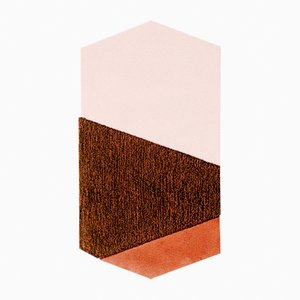 Medium LF Orange/Brown Oci Rug by Seraina Lareida for Portego