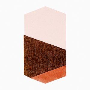 Medium LF Orange/Brown Oci Teppich von Seraina Lareida für Portego