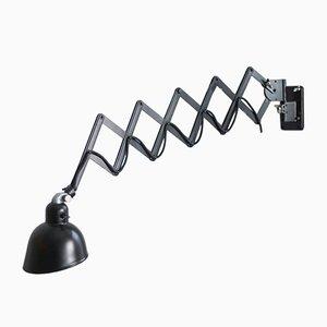 Black Scissor Lamp from Siemens, 1930s